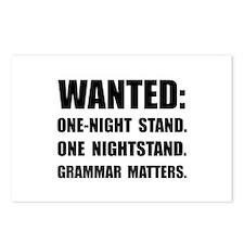 Nightstand Grammar Postcards (Package of 8)