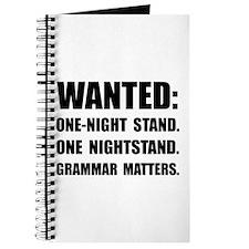 Nightstand Grammar Journal