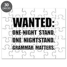 Nightstand Grammar Puzzle
