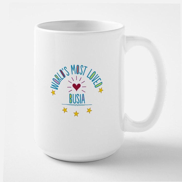 World's Most Loved Busia Large Mug