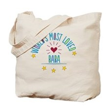 World's Most Loved Baba Tote Bag