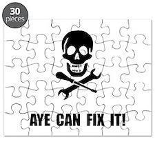 Pirate Fix It Skull Puzzle