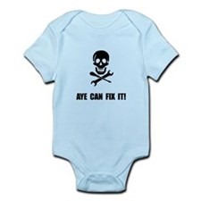 Pirate Fix It Skull Body Suit