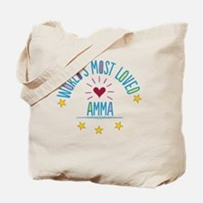 World's Most Loved Amma Tote Bag
