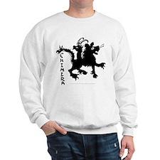 Graphic Black Chimera Sweatshirt