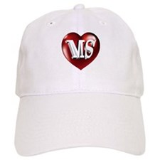The Great State of Mississippi Heart Baseball Cap