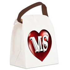 The Great State of Mississippi He Canvas Lunch Bag