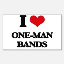 one-man bands Decal