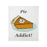 Pie Addict Throw Blanket