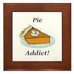Pie Addict Framed Tile