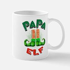 Papa Elf Mugs