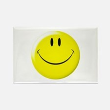 Smiley Face Rectangle Magnet (10 pack)