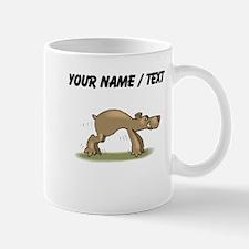 Custom Bear Tiptoeing Mugs