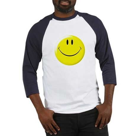 Smiley Face Baseball Jersey
