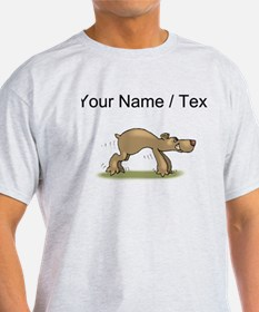 Custom Bear Tiptoeing T-Shirt