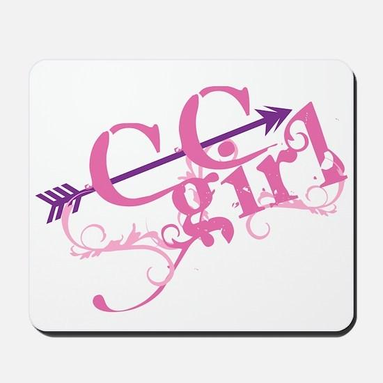 Cross Country Girl Mousepad