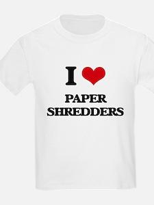 paper shredders T-Shirt