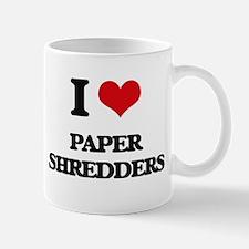 paper shredders Mugs