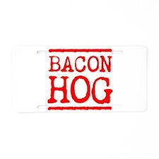 BACON HOG Aluminum License Plate