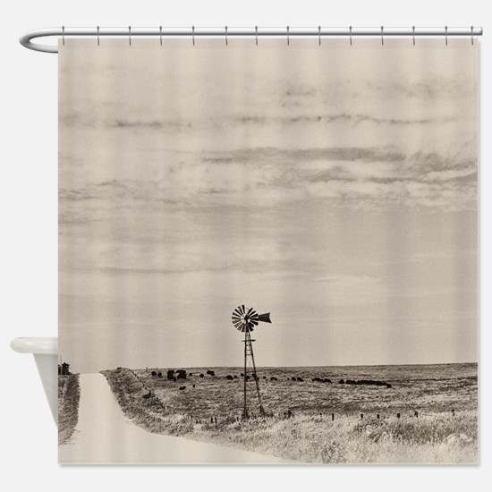 Cute Landscape photography Shower Curtain