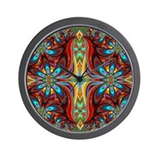 Kaleidoscope Delight Wall Clock