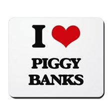 piggy banks Mousepad