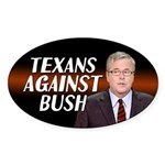 Texans Against Bush Sticker