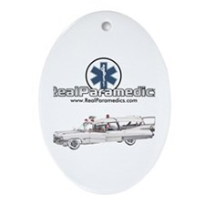 Cadillac Ambulance Oval Ornament
