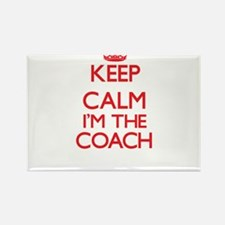 Keep calm I'm the Coach Magnets