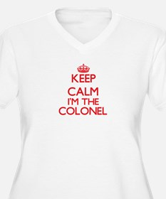 Keep calm I'm the Colonel Plus Size T-Shirt