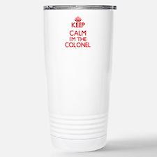 Keep calm I'm the Colon Stainless Steel Travel Mug