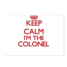 Keep calm I'm the Colonel Postcards (Package of 8)