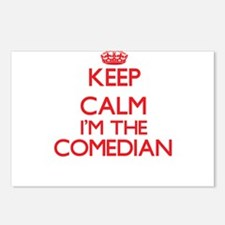 Keep calm I'm the Comedia Postcards (Package of 8)
