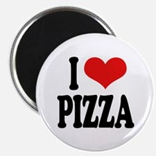"I Love Pizza (word) 2.25"" Magnet (100 pack)"