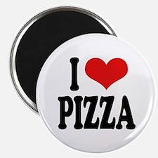 "I Love Pizza (word) 2.25"" Magnet (10 pack)"