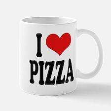 I Love Pizza (word) Mug