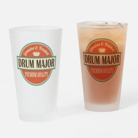 drum major Drinking Glass