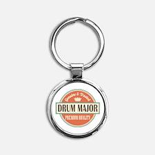 drum major Round Keychain