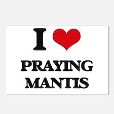 praying mantis Postcards (Package of 8)