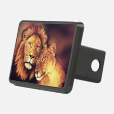 Lions Soulmates Hitch Cover
