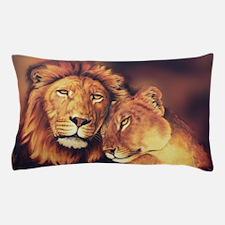 Lions Soulmates Pillow Case