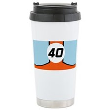 Cute Vintage race cars Travel Mug
