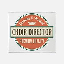 choir director Throw Blanket