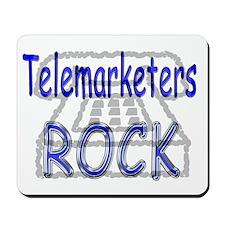Telemarketers Rock Mousepad