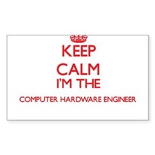 Keep calm I'm the Computer Hardware Engine Decal