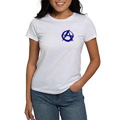 Anarchy-Blue Women's T-Shirt