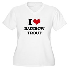 rainbow trout Plus Size T-Shirt