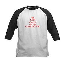Keep calm I'm the Conductor Baseball Jersey