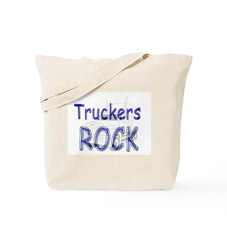 Truckers Rock Tote Bag