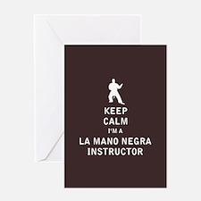 Keep Calm I'm a La Mano Negra Instructor Greeting